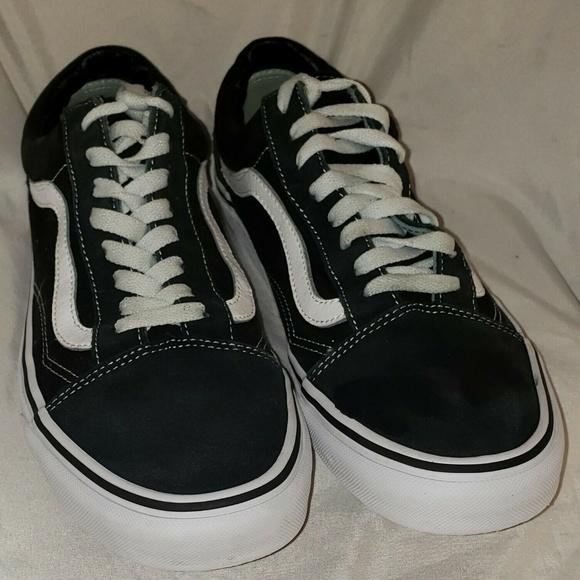 Vans Old Skool Black 751505 Men 9. Women 10.5